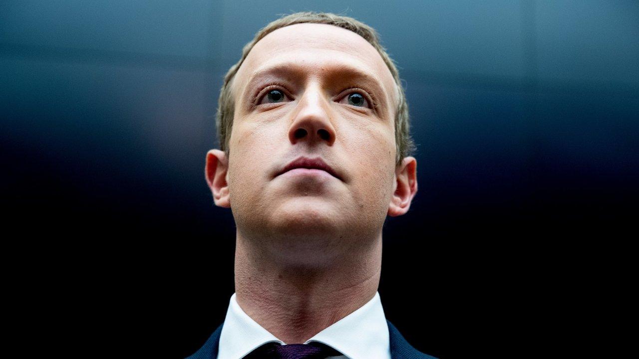 Chairman and CEO of Facebook Mark Zuckerberg.