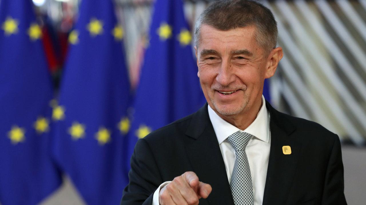 Babiš Andrej, EU
