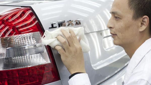 Výroba Škody Auto v Číně.