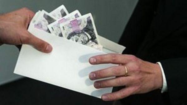 Úplatek - ilustrační foto