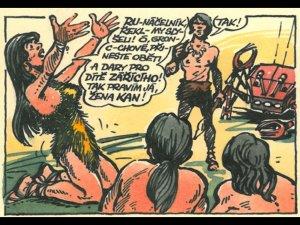 Mal� b�h - Pod paprsky Z���c�ho - obr�zky z komiksu