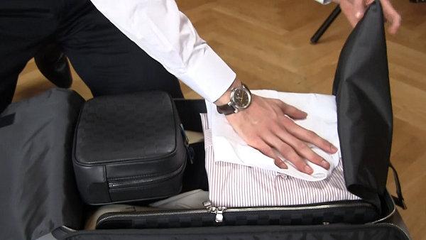 Efektivní balení kufru.