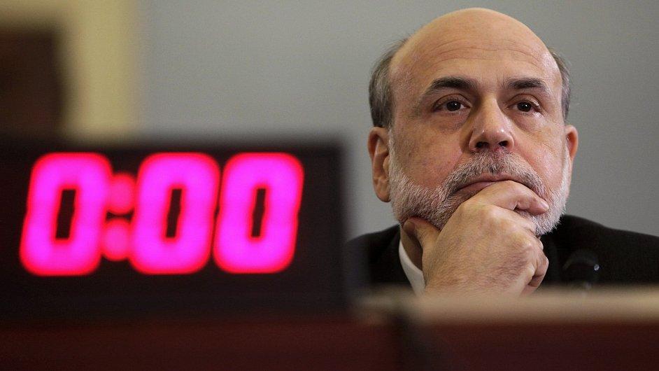 Šéf Fedu Ben Bernanke