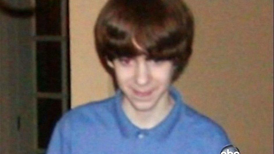 Adam Lanza na snímku z roku 2005
