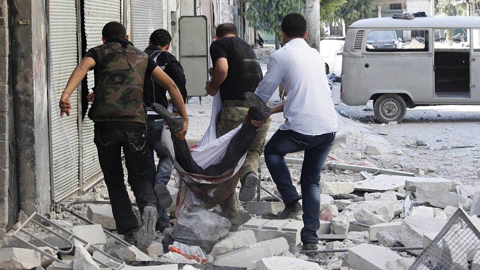 Válečný konflikt v Sýrii, ilustrativní foto