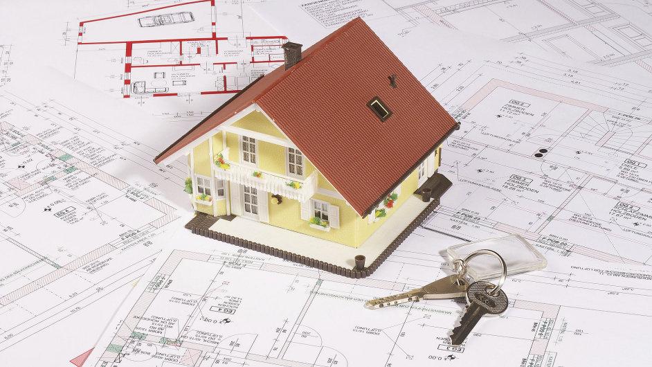 Dvě ze tří největších bank zvyšují úrokové sazby, za které půjčují na bydlení - Ilustrační foto.