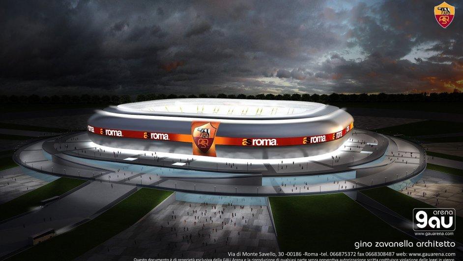 AS Řím: Projekt stadionu Franca Sensiho