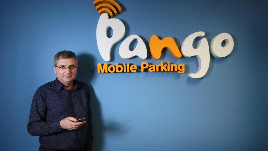 Ředitel společnosti Pango Parking Czech Jiří Nikodým.