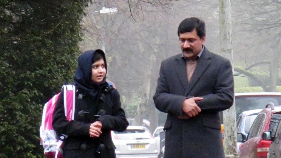Malalaj se vrátila do školy