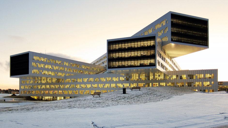 Nové sídlo ropné společnosti Statoil v Oslu