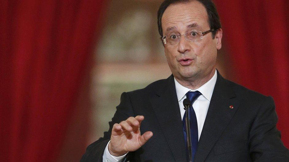 Francouzský prezident François Hollande (ilustrační foto)