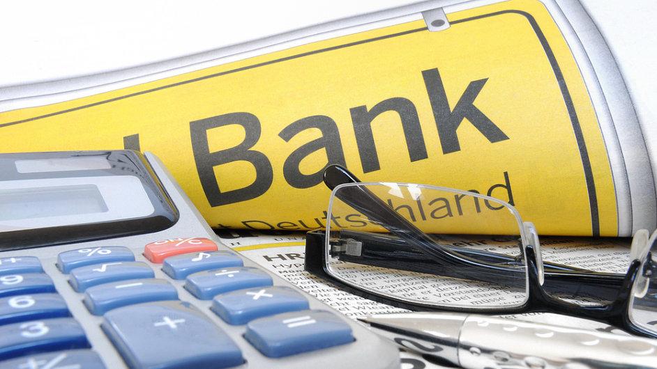 Banka, ilustrační foto