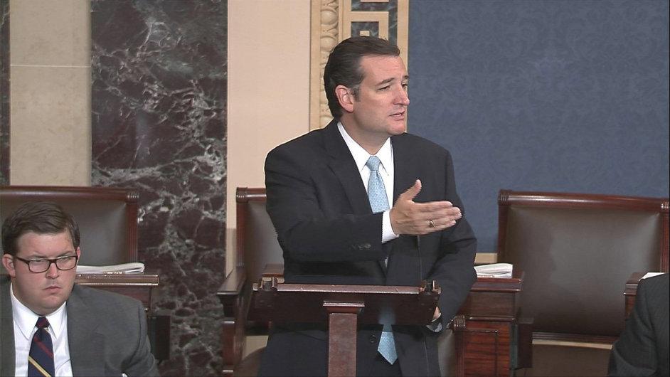 Republikánský senátor Ted Cruz