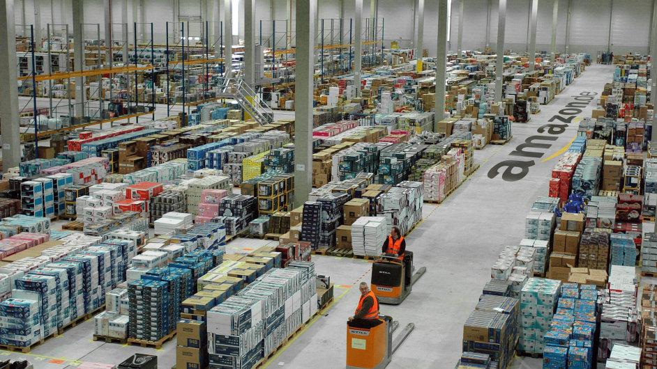 Amazon  vyhodí denně v německých logistických centrech výrobky za desítky tisíc eur.
