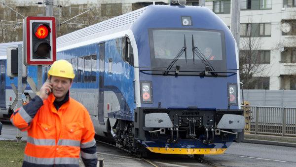 České dráhy vyhlásily veřejnou soutěž na pronájem deseti moderních lokomotiv – ilustrační foto.