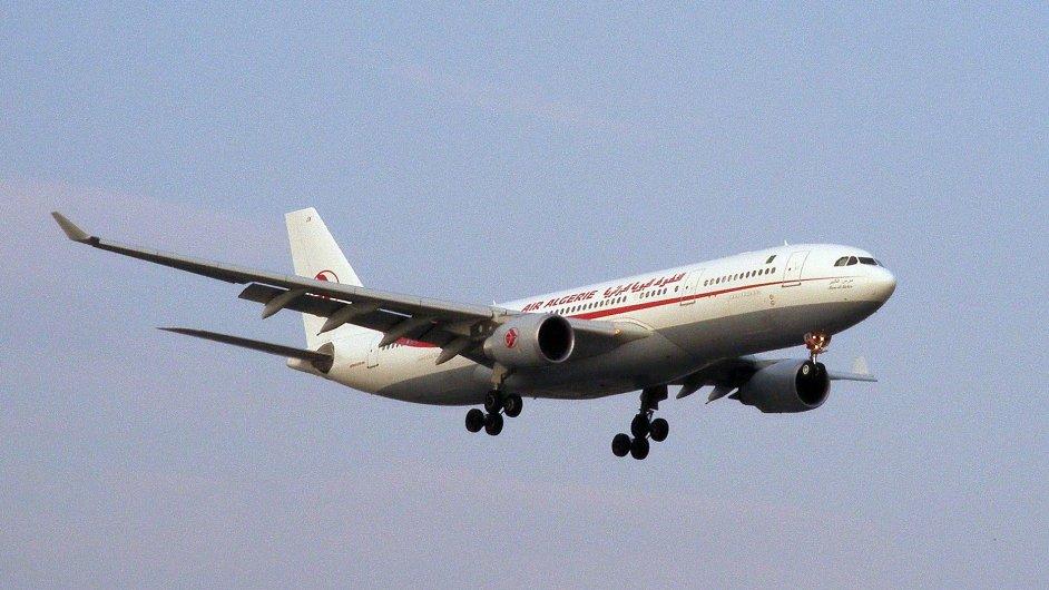 Letadlo společnosti Air Algerie - ilustrační foto