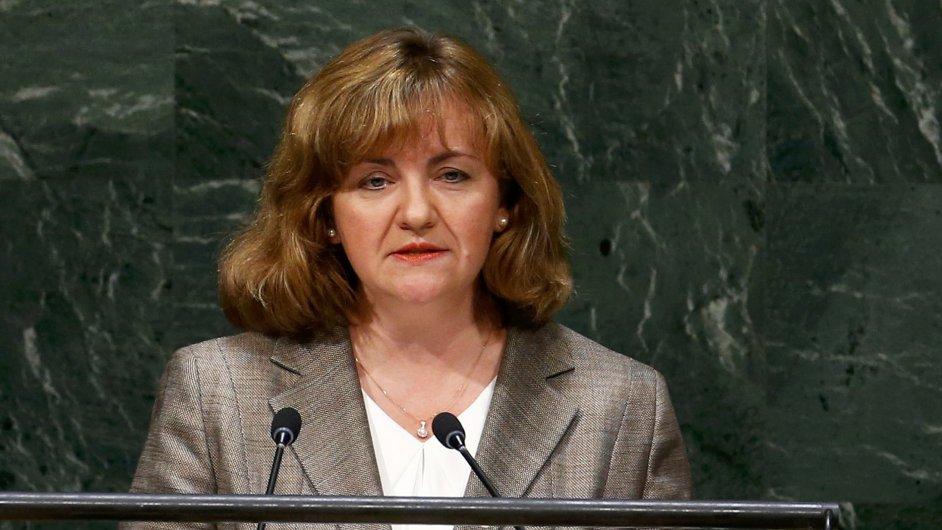 Natalia Ghermanová, ministryně zahraničí Moldavska