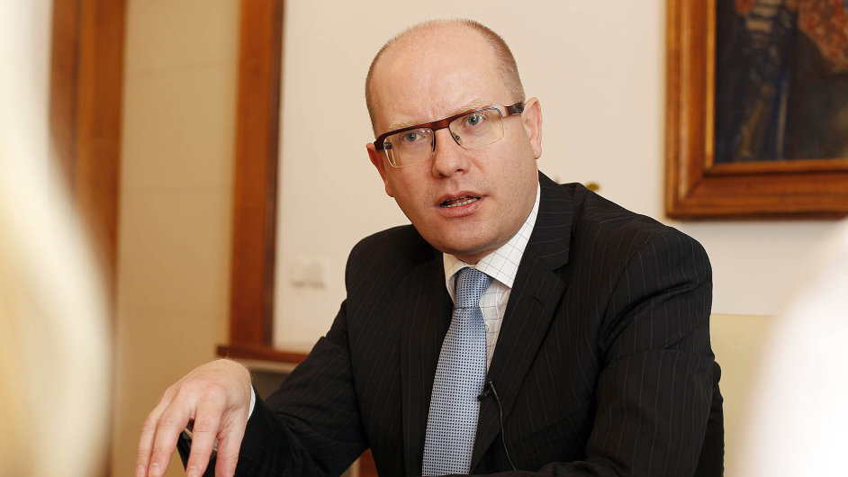 Bohuslav Sobotka, český premiér