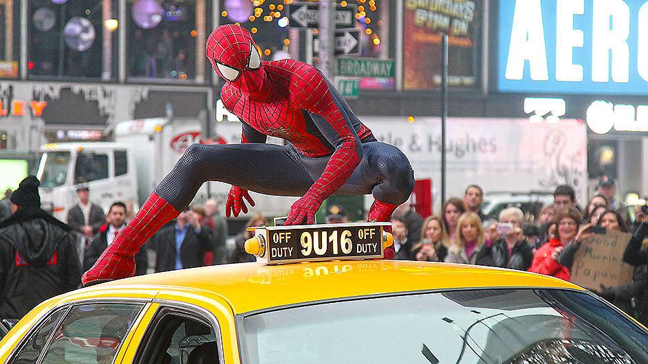 Původně komiksový hrdina se naposledy vloni objevil ve filmu Amazing Spider-Man 2.