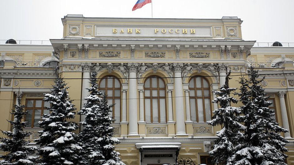 Ruská centrální banka (ilustrační foto)