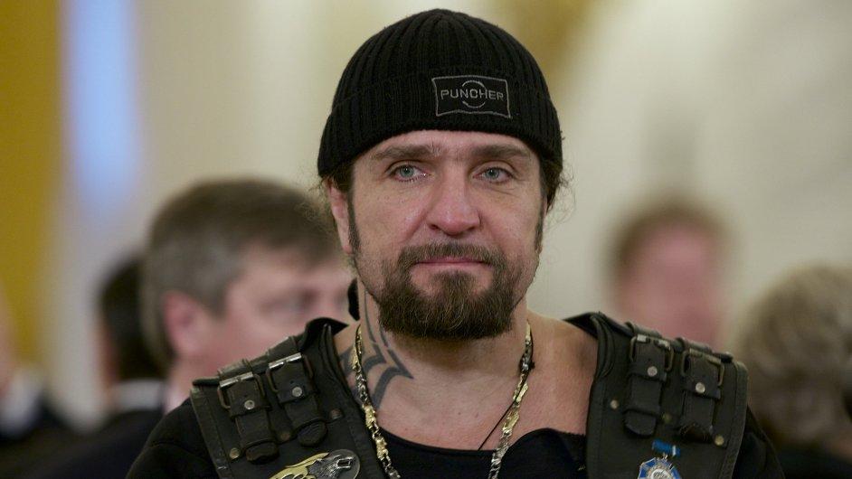 Lídr Nočních vlků Alexandr Zaldostanov.