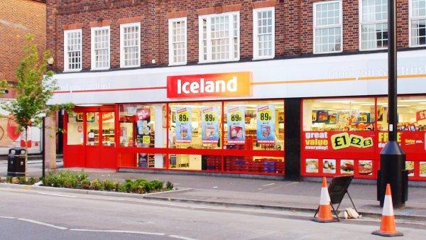Island podniká u EU právní kroky proti britskému řetězci Iceland.