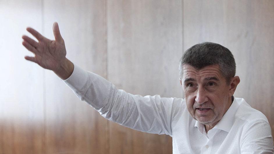 Andrej Babiš odmítá zvýšení deficitu, dokud je ve funkci.
