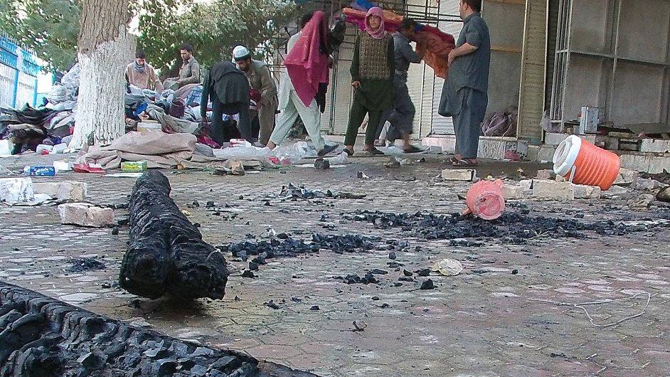Afghánistán boje