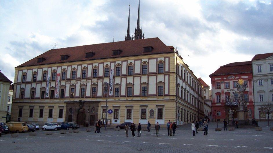 Na snímku je Dietrichsteinský palác na Zelném trhu v Brně.