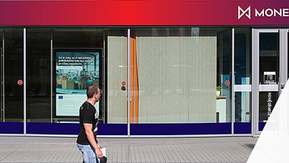 Vizualizace nové podoby poboček Moneta Money Bank