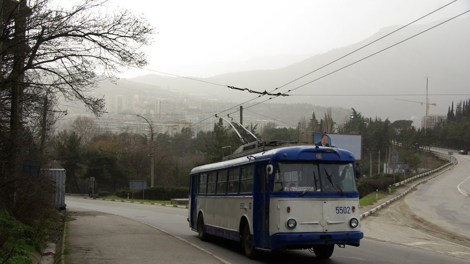 Krym škoda trolejbus