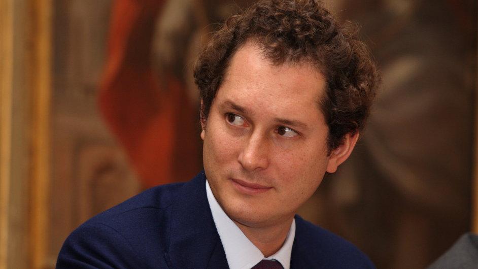John Elkann, předseda představenstva společnosti Exor (archivní snímek z roku 2010)