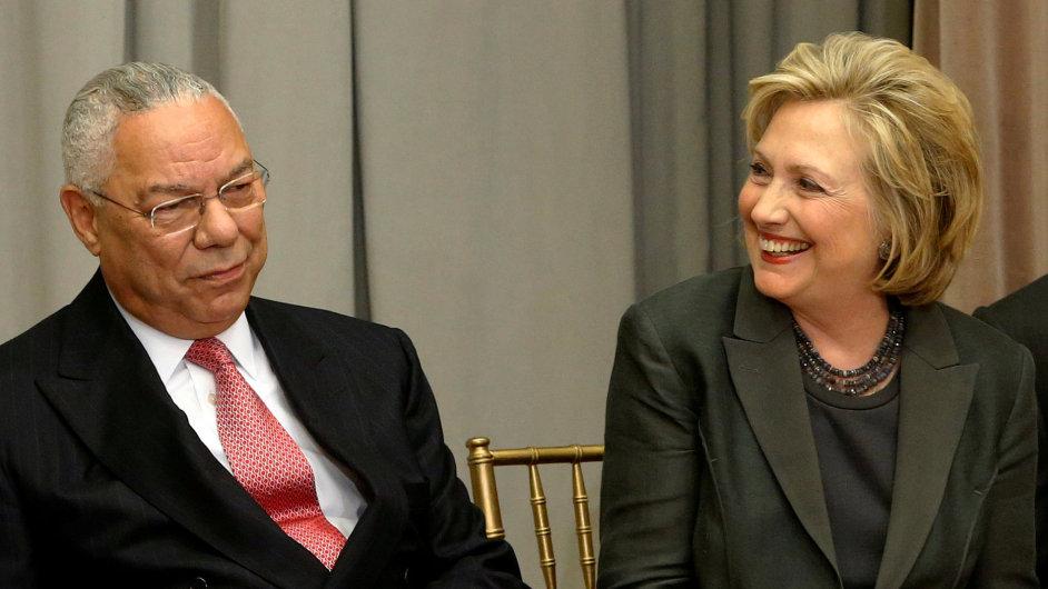 USA, Colin Powell, Hillary Clinton.