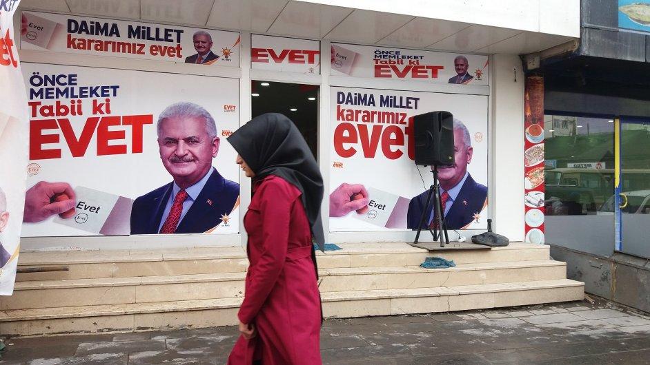 Turecko, referendum
