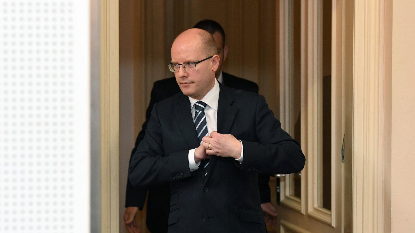 Bohuslav Sobotka, premiér