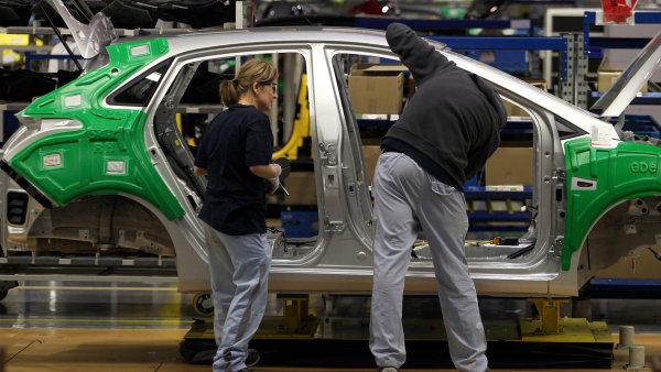 Výroba osobních aut za osm měsíců letošního roku vzrostla meziročně o 5,7 procenta - Ilustrační foto.