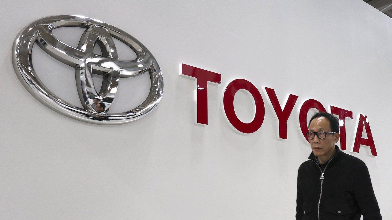Největší japonská automobilka Toyota - Ilustrační foto.