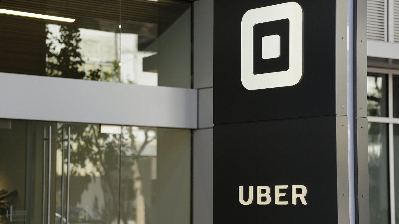 Společnost Uber.