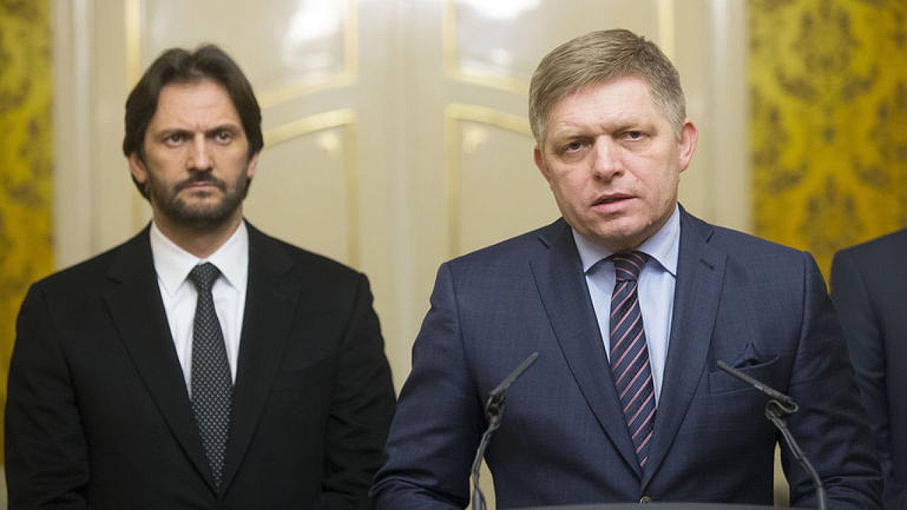 Kiska destabilizuje Slovensko, jednal se Sorosem, zaútočil Fico