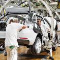 Výroba automobilů v závodu Škoda Auto