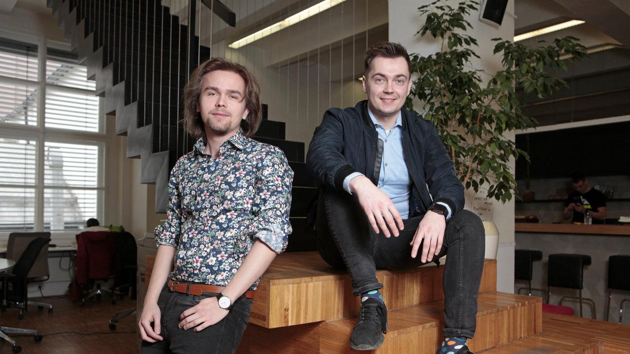 Zleva: Andrej Sýkora