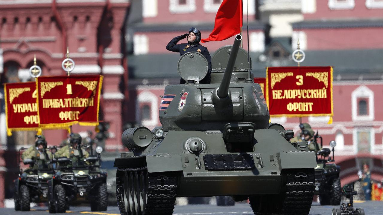 Legendární sovětský tank T-34