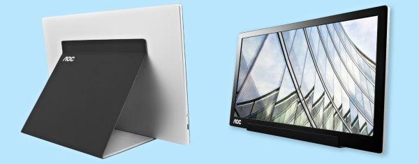 USB-C monitor AOC I1601FWUX