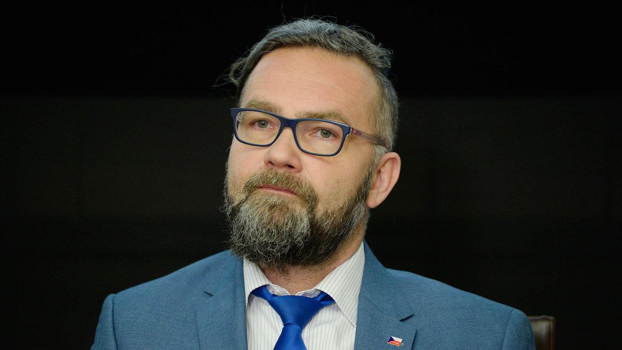 Nový předseda ERÚ Vratislav Košťál.
