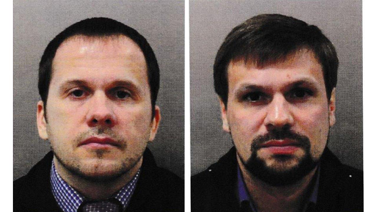 Alexandr Petrov a Ruslan Boširov.