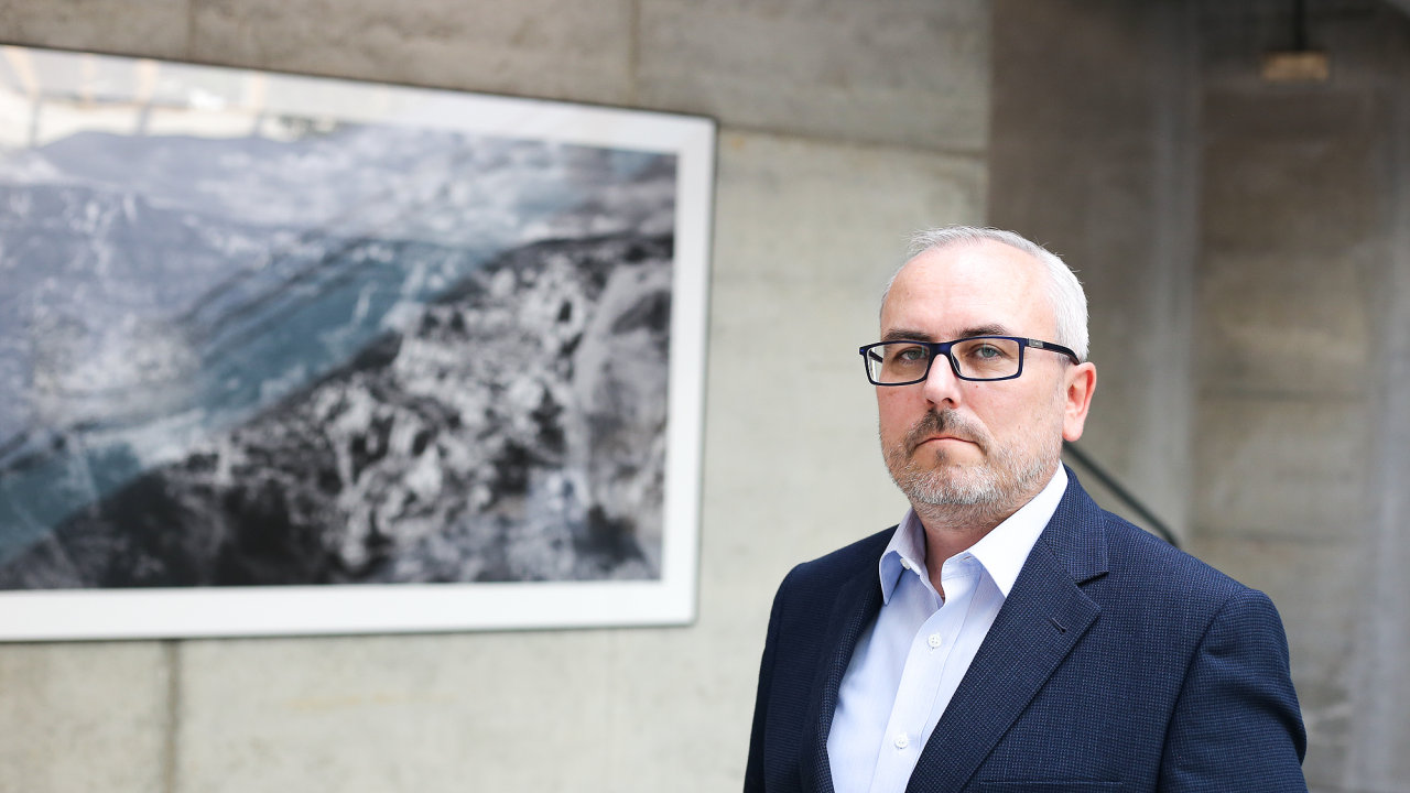 Petr Dufek, analytik ČSOB