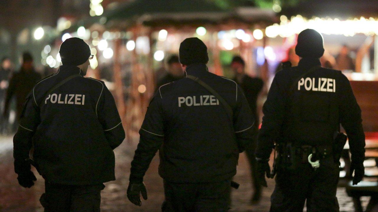 Německo policie