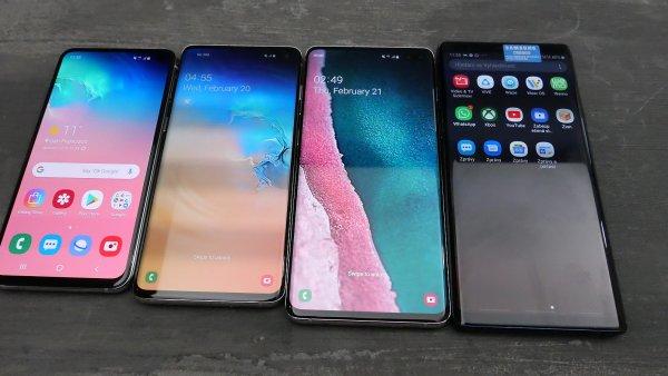 Místo kompromisů rekordy: Samsung představil Galaxy S10 s nádherným displejem a luxusní výbavou
