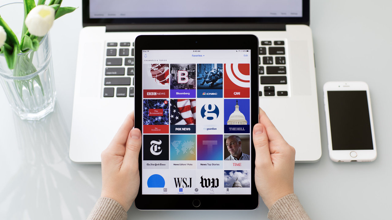 Apple chystá novou verzi on-line trafiky s novinami - Ilustrační foto.