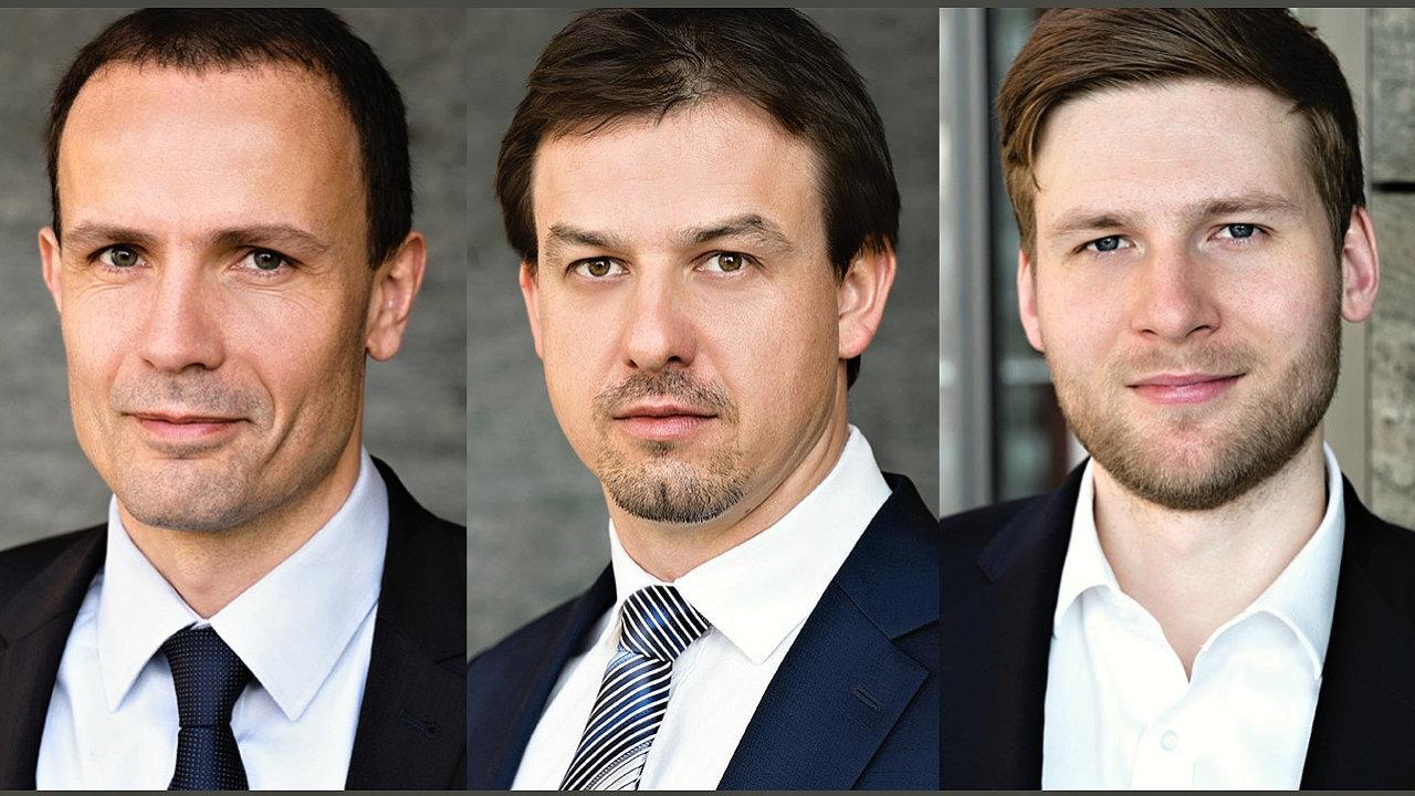 Jan Kotous, Martin Koláček a David Šimek, advokátní kancelář Deloitte Legal